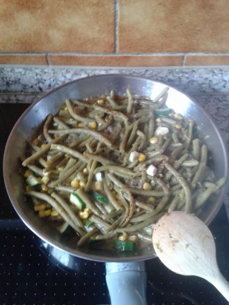 tigaie orez legume